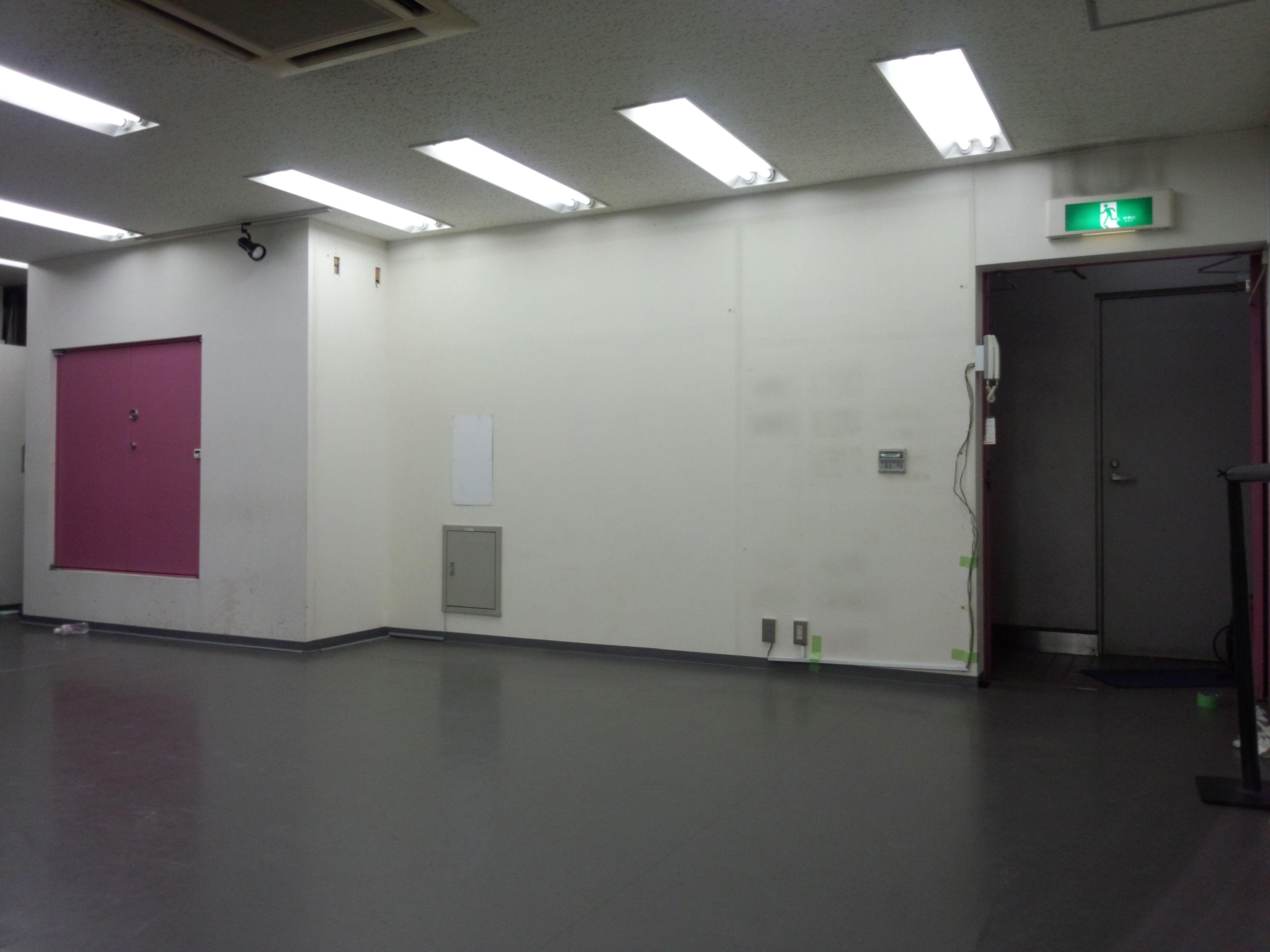 秋葉原ダンススタジオの面積が広くなりました。