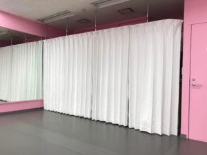 秋葉原のレンタルスタジオ 着替えスペース